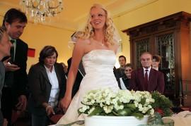Braut im Standesamt Herten