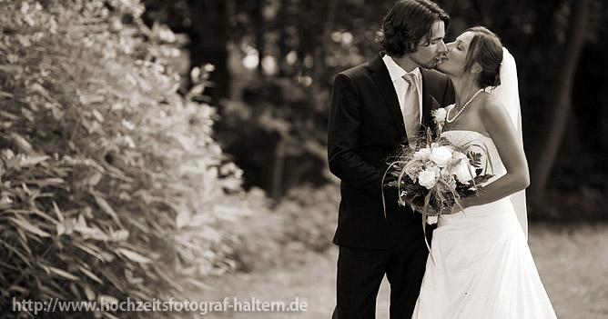 Hochzeitskuss in Alt Marl